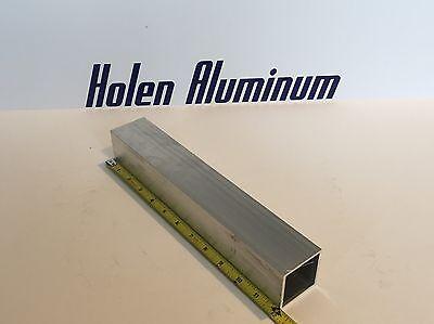 2 X 2 X 18 X 12 Long Square Aluminum Tubing 6063-t52 Radius Corners