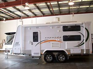 2012 Jayco Expanda 18.57-6 Outback Gilston Gold Coast West Preview