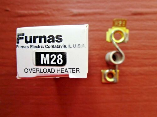 Furnas Siemens M28 Thermal Overload Relay Heater Coil Element NEW