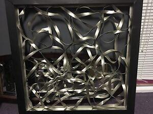 Cadre style industriel 36 pouces  x 36 pouces