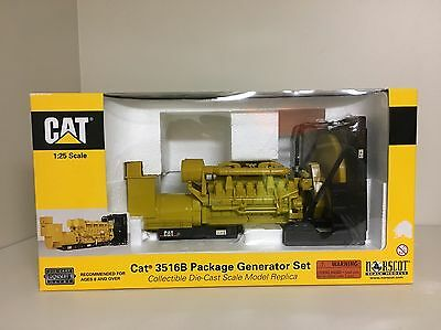 CAT 3516B Package Generator Set Diecast Norscot 1:25 55100