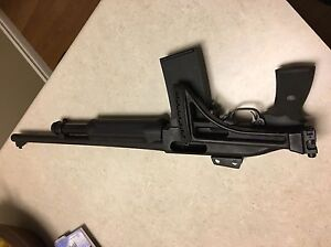 Grizzly Mag Fed Shotty with Ghost Ring Sights,  Folding Stock