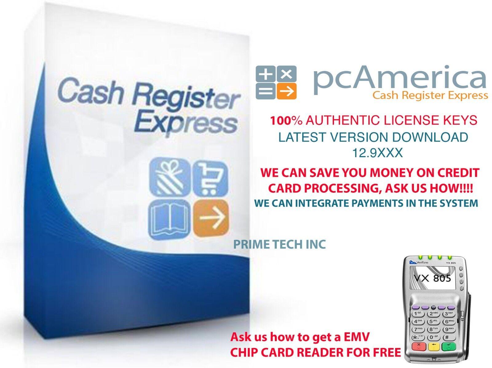 Cash Register Express LATEST VERSION 12.9XXX   CRE PROFESSIO