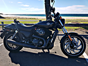 Harley davidson street 500 with custom wheel, exhaust, air filter Gladesville Ryde Area Preview