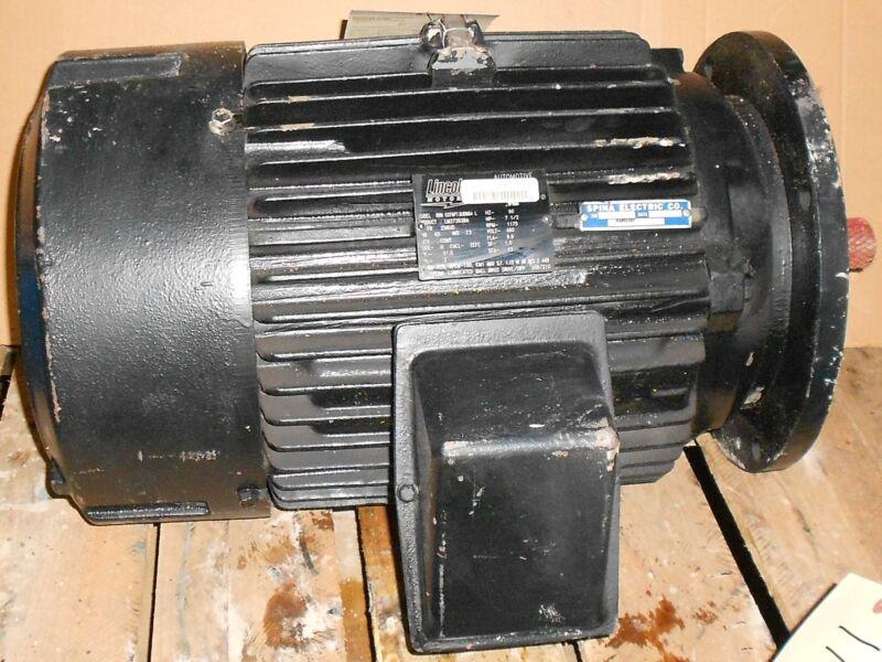 Reman - Lincoln Motors 7.5 HP Electric Motor 1175 RPM 11521WT
