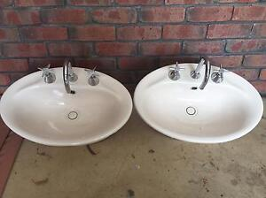 Vanity Basins  x2 Angle Vale Playford Area Preview