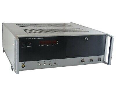 5mhz 1mhz 100khz Cchb-74 Frequency Rubidium Standard An-g Agilent Hp