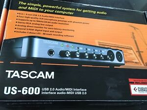 Interface audio TASCAM US-600