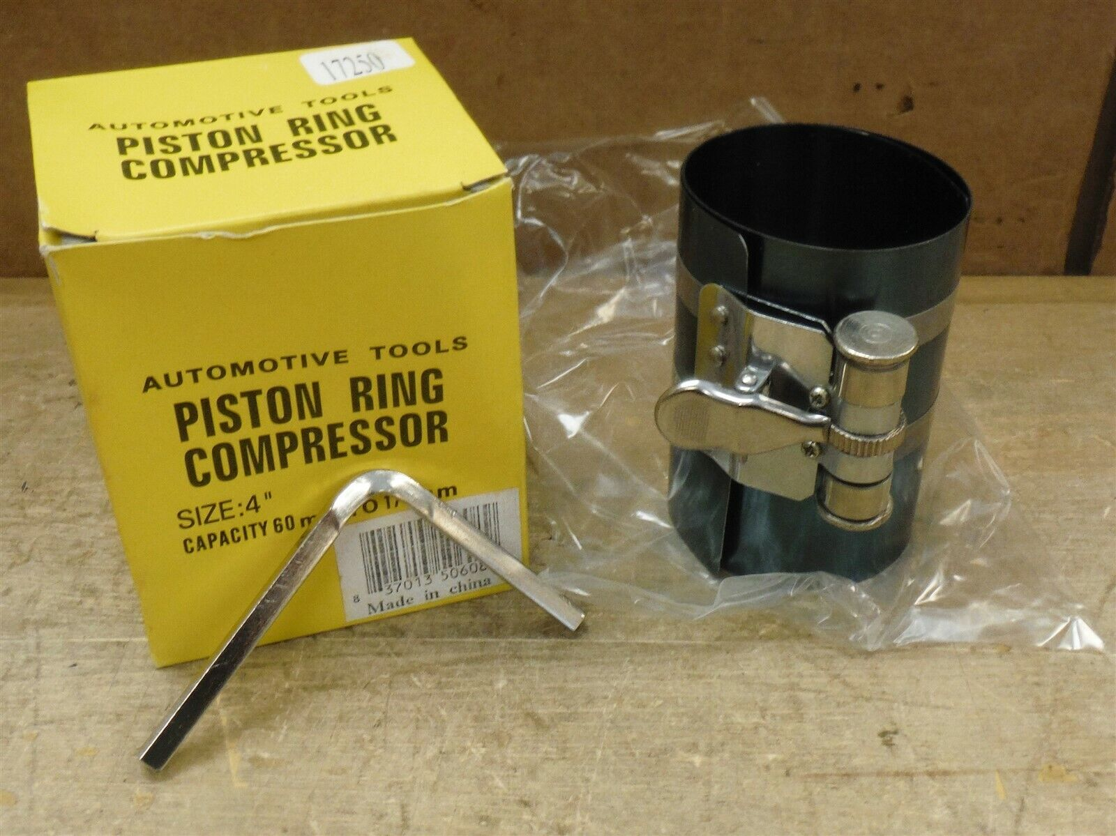 Automotive Tools 17250 Piston Ring Compressor 4″ 60mm-175mm FREE SHIP 221