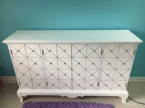 Solid wood beautiful credenza