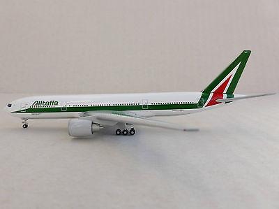 ALITALIA Boeing 777-200 1/500 Herpa 526258 777 Madonna di Campiglio I-DISU