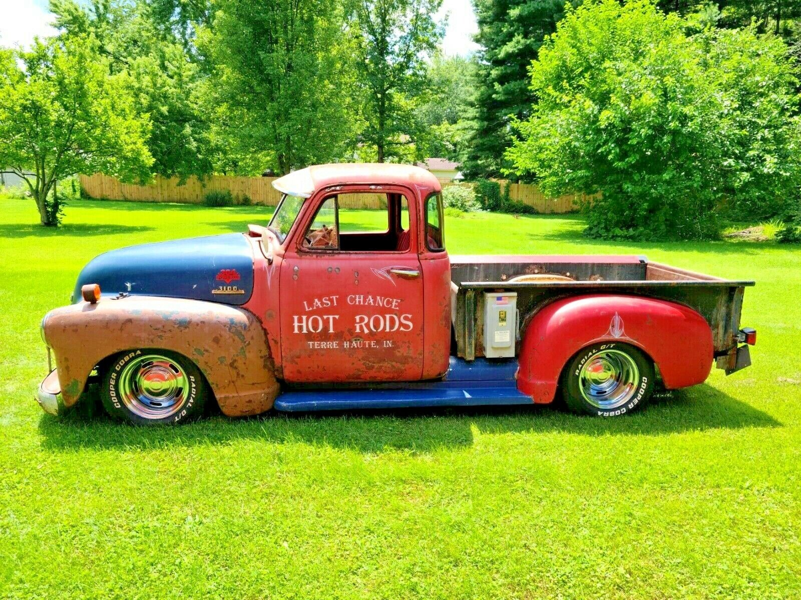 1950 Chevy Rat Rod Truck 6.0