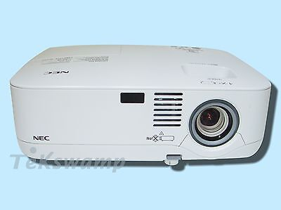 NEC NP400 LCD Projector, 2600 ANSI HD 1080i HDMI-adapter w/Remote bundle