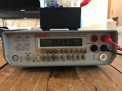 Keithley 197A Digital Multimeter Used Tested Ships Free