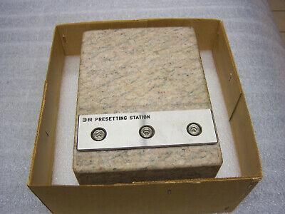 System 3r 3r-us004 Wedm Presetting Station 8 X 6 X 4 Wdovetail Edm Tooling