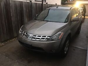 2005 NISSAN MURANO FOR PARTS