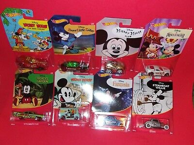 Hot Wheels Mickey Mouse Disney Ford Plymouth Bread Box COVELIGHT  TAKE YOUR PICK