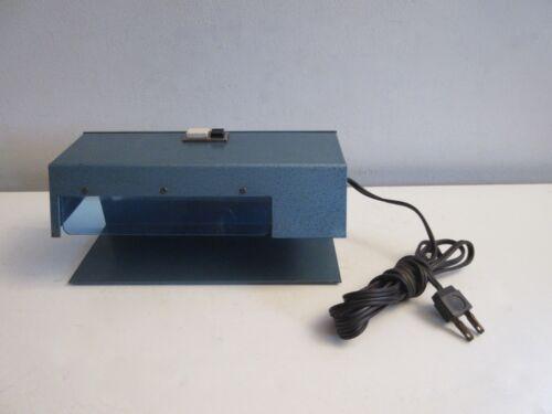 Vtg Ultraviolet Counterfeit Detection System Money Detector Machine Black Light
