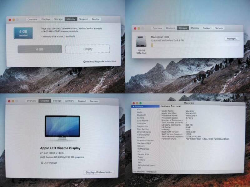 Apple Mac mini 4Gb/