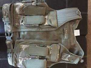 Paintball / Airsoft camo tactical vest