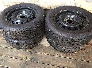 Michelin pilot winter tires Peterborough Peterborough Area image 1
