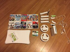 Wii, wii games, wii fit and controllers