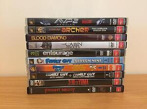 DVD's (Assorted MA+ & R+ rated) Castle Hill Townsville City Preview