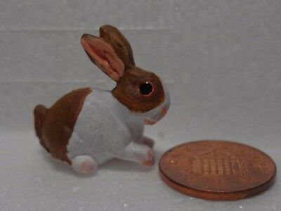 1:12 Scale Dolls House Miniature Rabbit Garden Animal Pet Accessory (D1)
