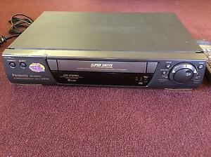 Panasonic NV-HD670 VCR VHS Super Drive not working with remote Glenelg Holdfast Bay Preview