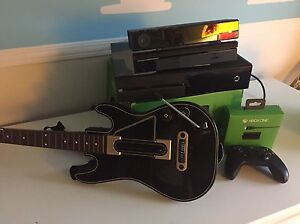 Xbox one 500GB with Kinect and TV mount