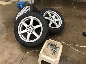 gsi-f winter tires with rims