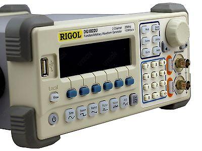 Rigol Dg1022u Arbitrary Waveform Function Generator 25mhz Harmonic Sine 2ch New