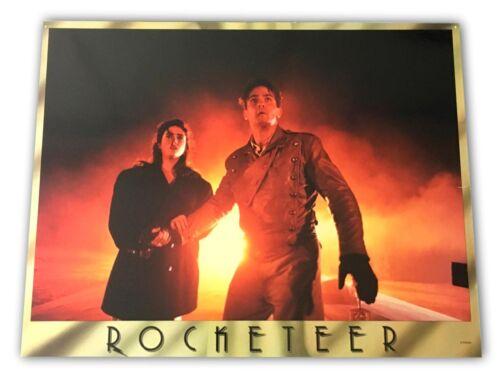 """Rocketeer"" Original 11x14 Authentic Lobby Card Poster Photo 1991 Disney 5"