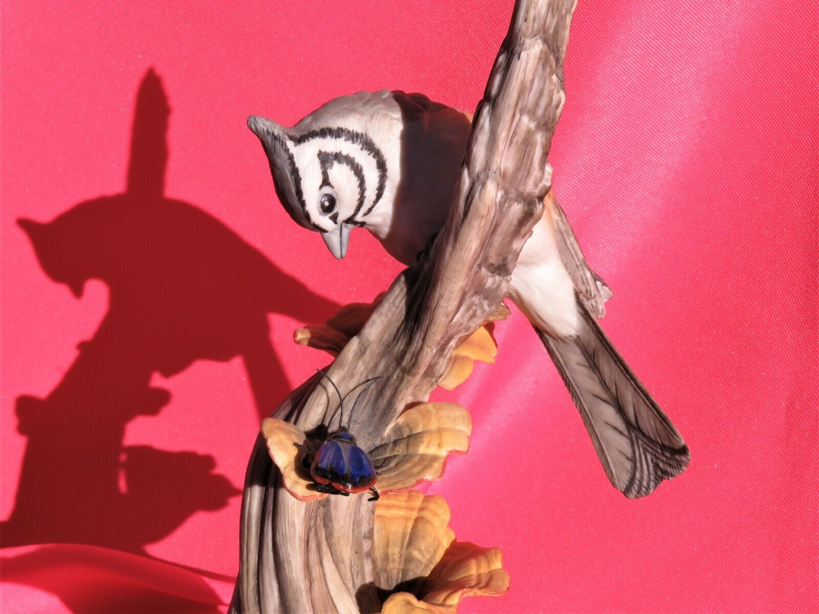 Boehm ~ Bridled Titmouse ~ figurine