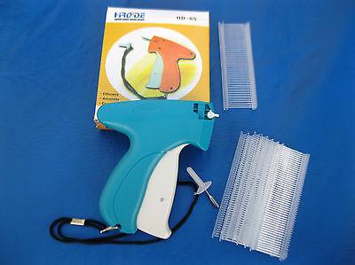 Garment Price Label Tag Tagging Gun Plus 1000 1 Clear Barbs