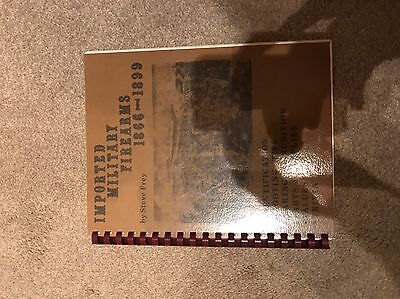 Book Imported Military Firearms Rare Signed