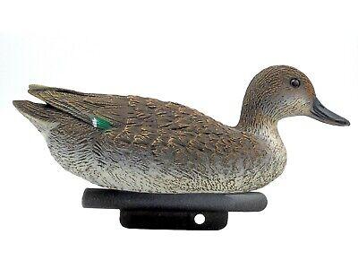 Tierfigur Krickente weiblich Kunststoff Ente Vogel Deko Teich Schwimmente Duck