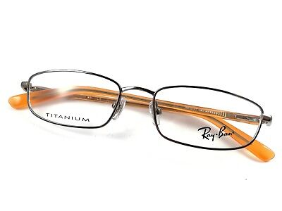 RAY BAN Brille Titanium RB1008T-3001 Small Reading Frame Italy Gafas Lunettes