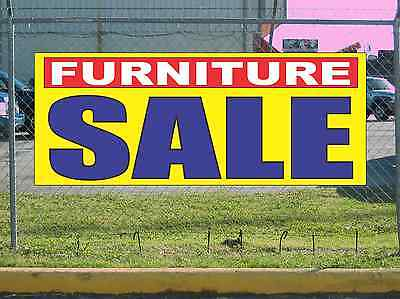 Furniture Sale Banner Sign New 2x5