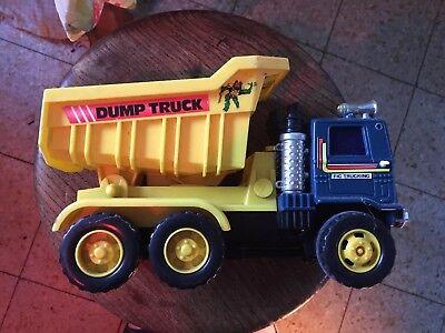 Child's Toy Dump Truck
