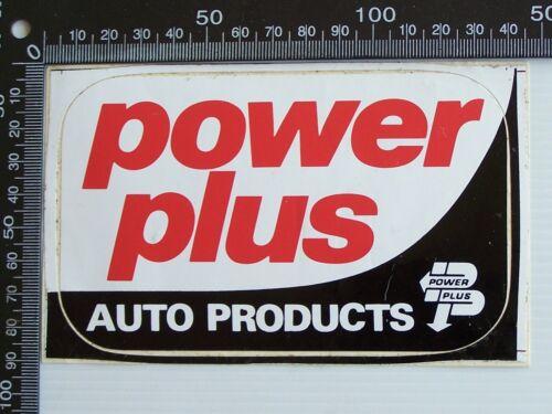 RARE POWER PLUS AUTO PRODUCTS LOGO AUSTRALIA ADVERTISING PROMO STICKER