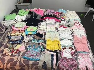 Bulk of baby girl clothes. Ellenbrook Swan Area Preview