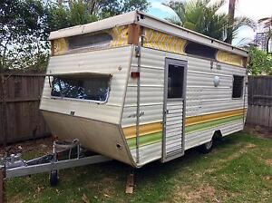 Jayco Jayflight 1984 Wind-Up Top 14' Unfinished Project Shell Biggera Waters Gold Coast City Preview