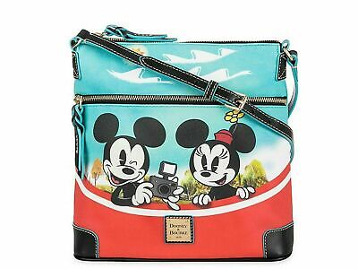 Disney Dooney & Bourke Mickey Mouse and Friends Skyliner Crossbody Bag Brand New
