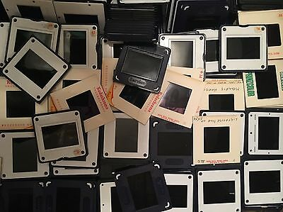 200 x Assorted Vintage 35mm Photo Projector Slides, 1960's-1990's People Places