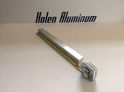 1 X 1 X 12 Long Square Aluminum Bar 6061-t6