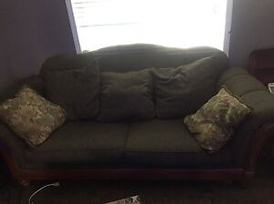 Big newer couch and love seat, microfibre recliner need gone