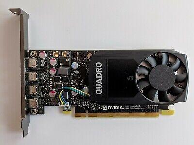 PNY nVidia Quadro P600 VCQP600-PB / 2GB GDDR5 / 4x Mini-DP / Grafikkarte