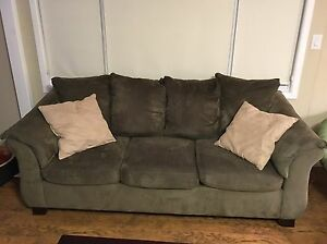 Sage couch, love seat & coffee table set