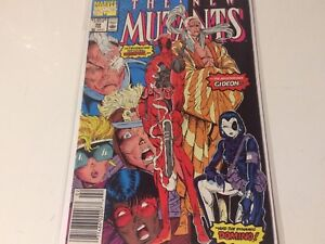 New Mutants 98 nm condition newsstand edition